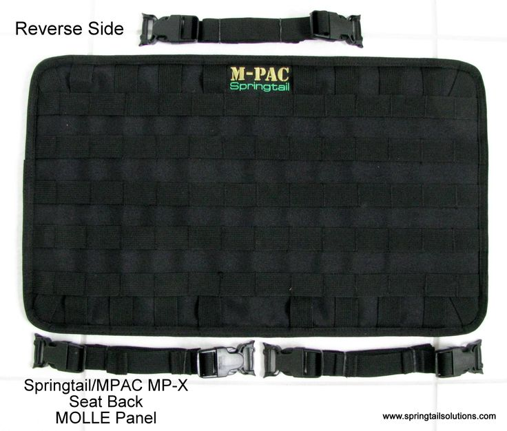 Mp X Seat Back Molle Panel Springtail Solutions Trucks