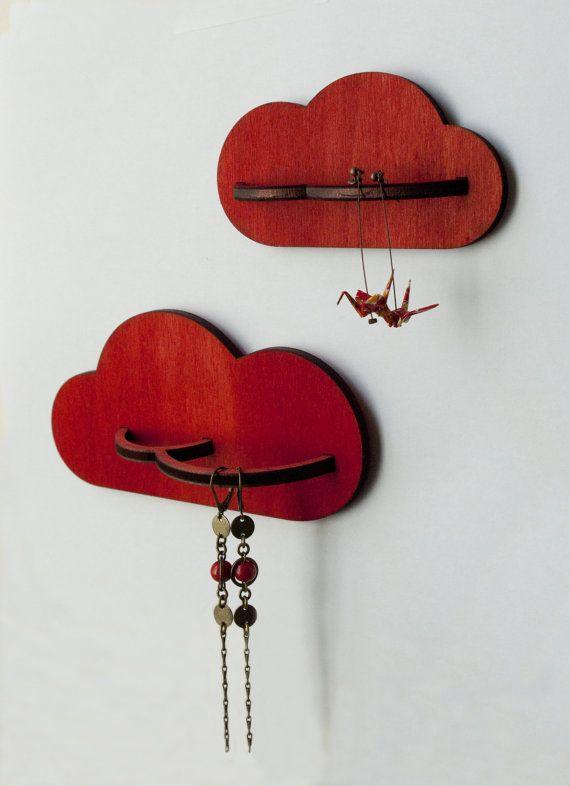 Porte bijoux en bois