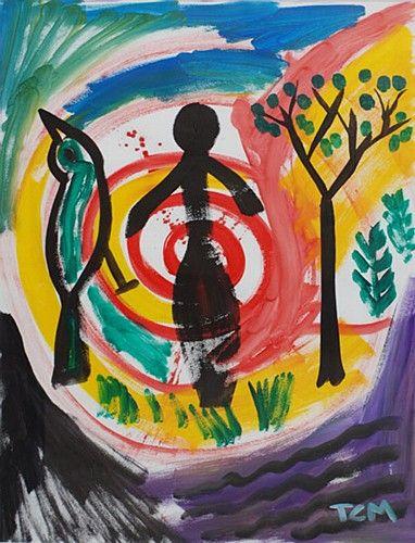 "TC Murphy, ""Spiral Trio"" #art #painting #DukeStreetGallery"