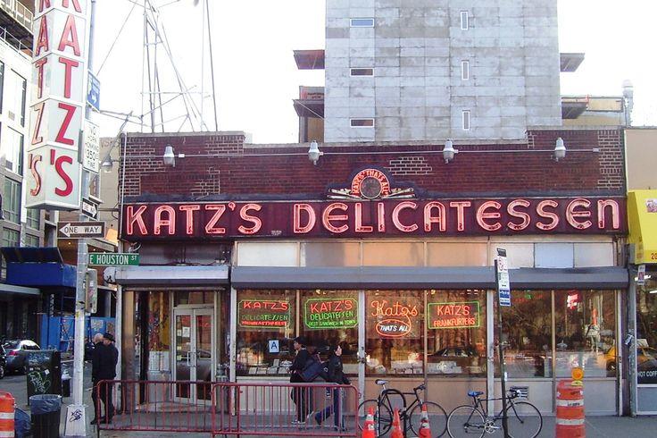 Katz's Deli: a true New York institution http://www.nyhabitat.com/blog/2015/04/27/top-10-delis-new-york-city/