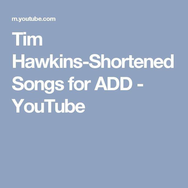 Tim Hawkins-Shortened Songs for ADD - YouTube