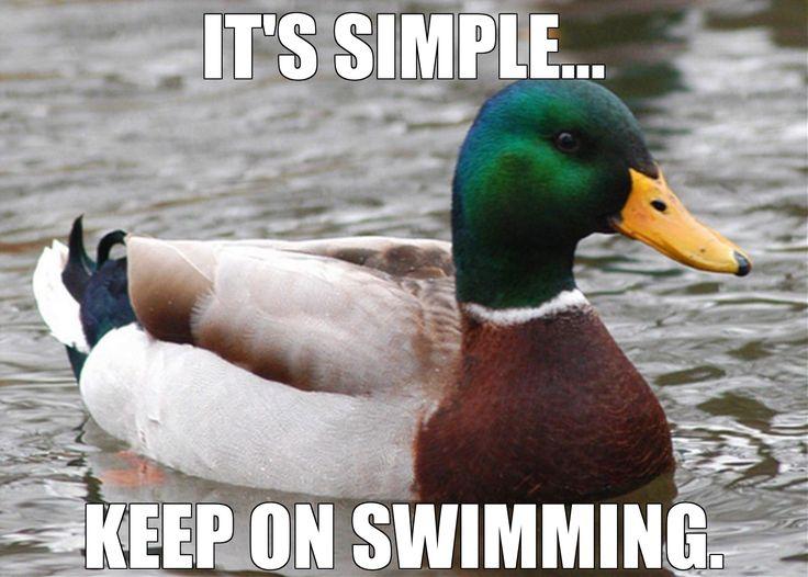 swimming humor
