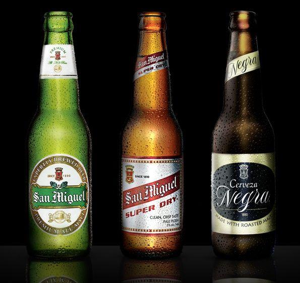 """San Miguel es una empresa cervecera española con sede en Barcelona y fundada en 1890 en Manila, capital de la entonces Capitanía General de las Filipinas, """"San Miguel"""". Forma parte del grupo empresarial Grupo Mahou-San Miguel. Cerveza San Miguel Premium, Super Dry y Cerveza Negra -   Dios ha echo San Miguel cerveza ..."""