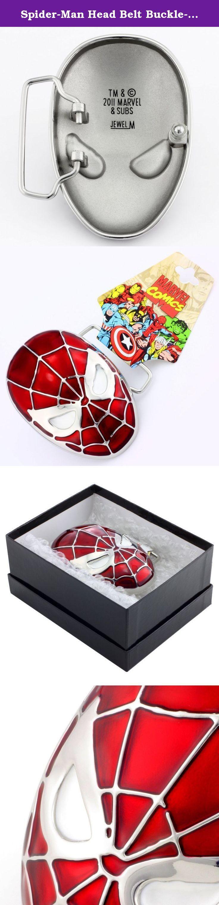 Spider-Man Head Belt Buckle-MAR-4002.