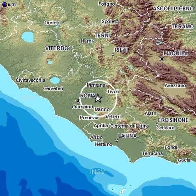 ROMA - La terra trema nella capitale. Due scosse di terremotosono state registrate stamanealle ore 9.33 e alle ore 9.37 con un