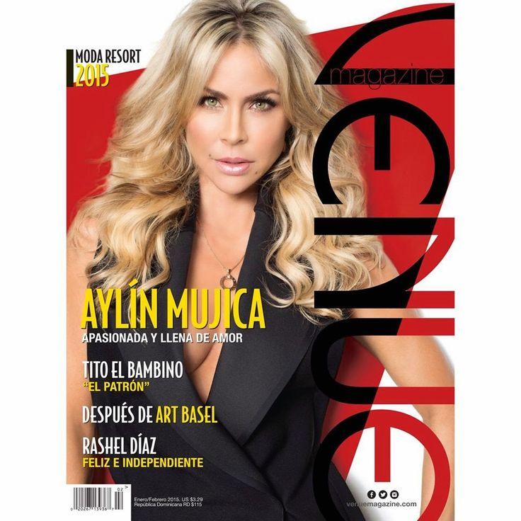Actrices y actores latinos: Venue magazine - Aylín Mujica, apasionada y llena ...