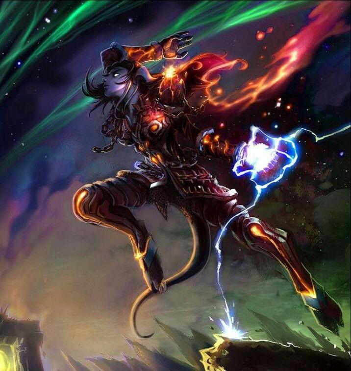 Draenei shaman