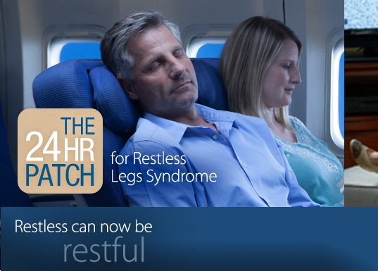 Restless Legs Syndrome (RLS) Treatment | Neupro® (Rotigotine Transdermal System)