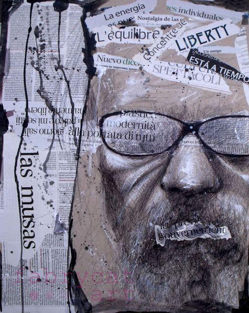 """Liberty""  Mixed media art by fabrycat"