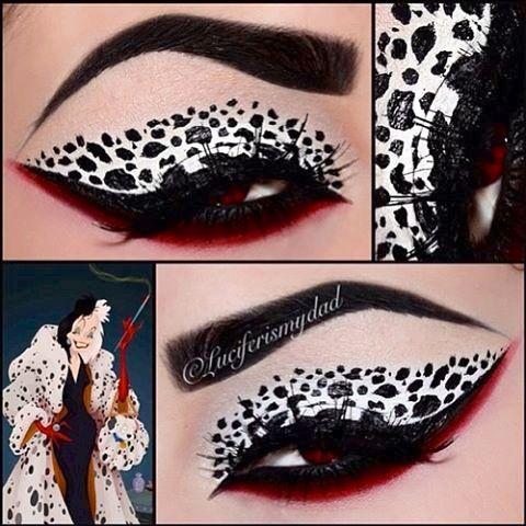 Dalmatians makeup :)