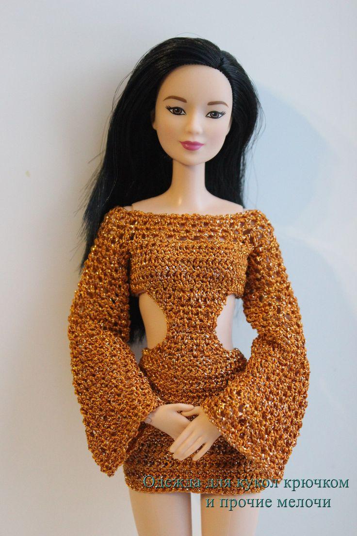 657 besten Barbie Bilder auf Pinterest | Häkelpuppen, Puppenkleider ...