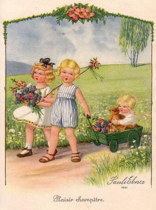Pauli Ebner (1873-1949) — Old   Post Cards (502x676)