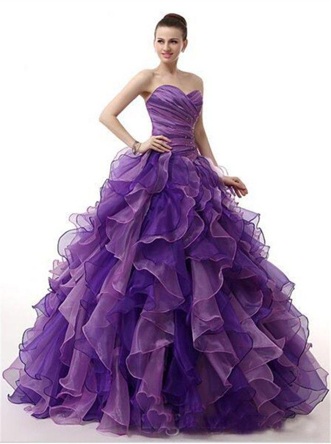 1000 Ideas About Purple Prom Dresses On Pinterest