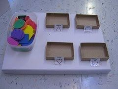 Special Education Resources: Work Task Box.  Not only does this post have some great task boxes you can make on your own, but there are also lots of tips on how to make them a successful part of your classroom routine.
