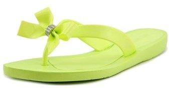 GUESS Tutu Women Open Toe Synthetic Yellow Flip Flop Sandal.