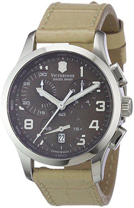 Victorinox Swiss Army - Reloj cronógrafo de cuarzo para mujer con correa de  piel, color 3369208c8e