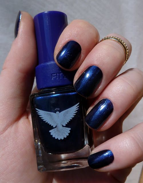Christina Fitzgerald Stephanie Midnight blue swatches/ Кристина Фитцжеральд отзыв
