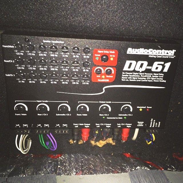 Soundwavecustoms Audiocontrol Dq61 Amazing Soundquality