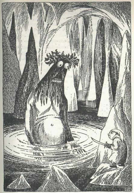 Tove Janssons 'Hobbitten'-tegninger