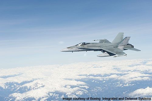 The CF-18 Hornet is built for the Canadian Forces. - Image - Airforce Technology