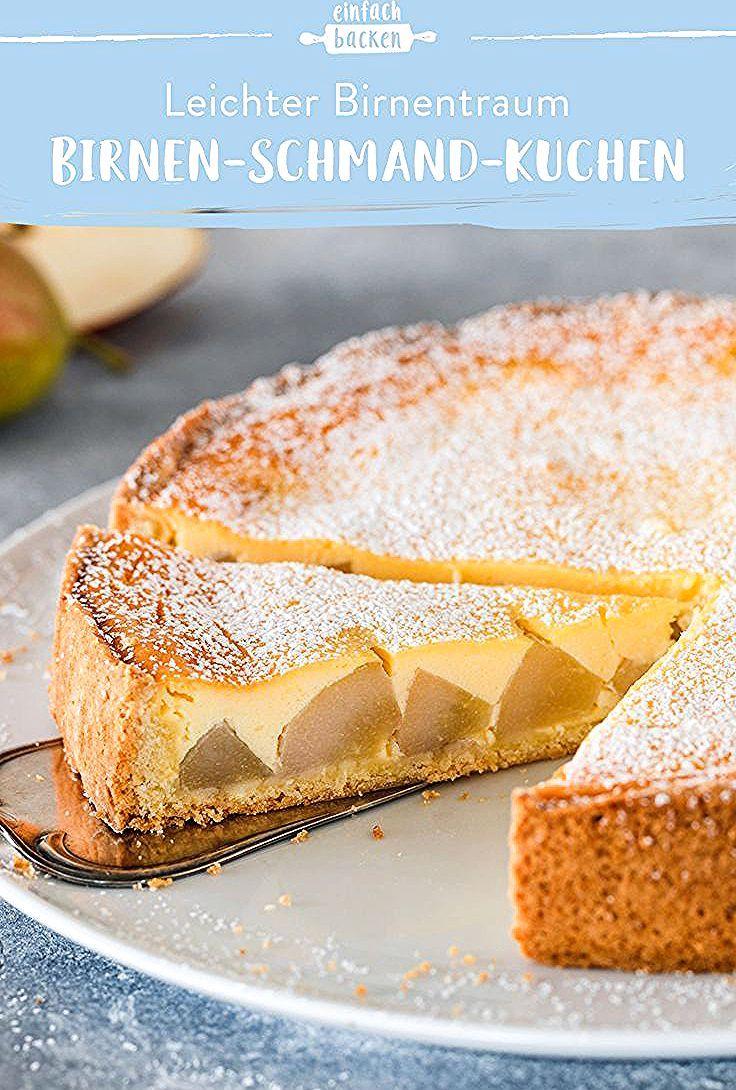 Birnen Schmand Kuchen In 2020 Sour Cream Cake Baking Recipes Shortcrust Pastry