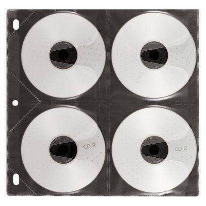 Vaultz® CD Binder Pages 25 pack - organizing photo CD's