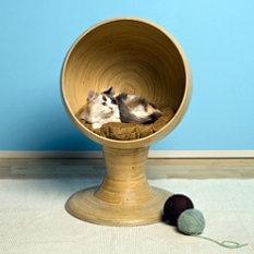 Bamboo Kitty Ball Bed