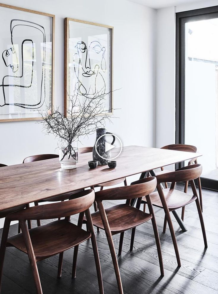 Thonet Table From Anibou With Dining Chairs From Great Dane The Theory Of Ever Diningroom D White Dining Room Decor Dining Room Decor Dining Room Design
