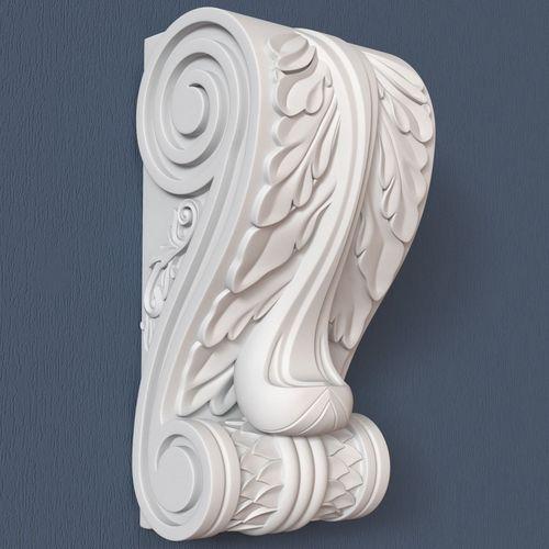 30 decorative corbels collection 3d model max obj fbx ma mb 5