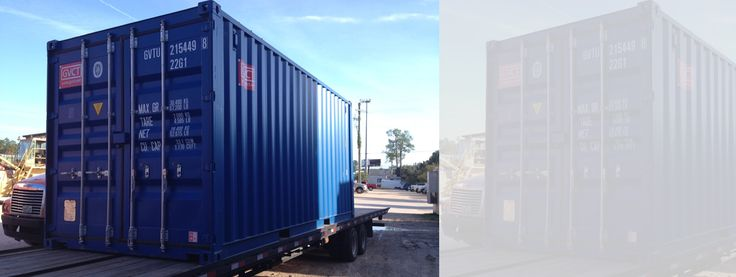 Storage Containers for Sale at E & S Equipment Sales & Surveying #storagecontainersflorida