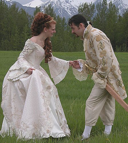 ArcaneLore French Renaissance Wedding Gown