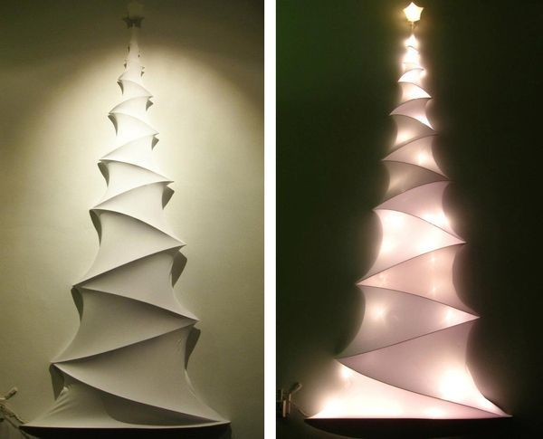 POLYPROPYLENE CHRISTMAS CONE TREES -