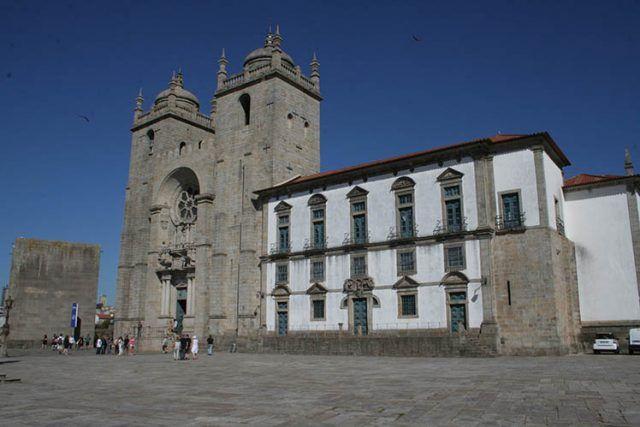 Portugal Porto Cathedral Se Square
