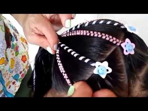 PEINADO CON  LIGAS - YouTube