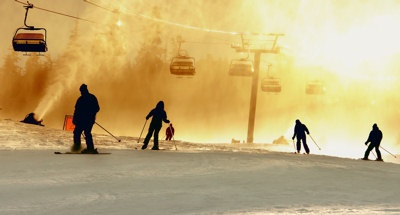 Snowsure ski resorts - even at the end of winter