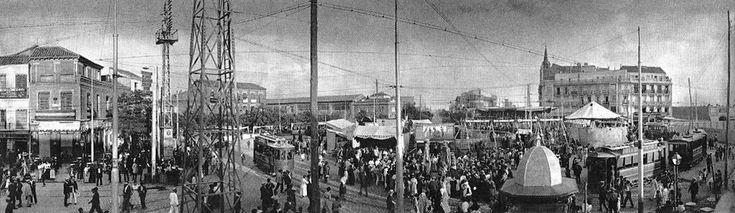 Verbena en Cuatro Caminos, años 20. Fotografía de Regueira