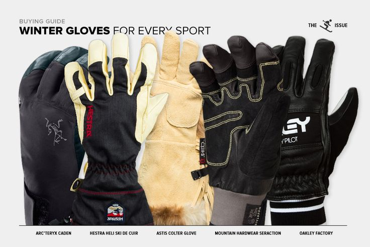 THESE SHOULD COME IN HANDY Winter Gloves for Every Sport THE SKIING ISSUEPRICE : $0-$25 By NICK CARUSO on 1.23.14