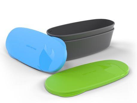 SpanBox van Light My Fire. De SnapBox Oval is een langwerpige set met twee waterbestendige/waterdichte kunststof bakjes. http://urbansurvival.nl//index.php?action=article&aid=34694&group_id=20000023&lang=nl&srchval=SnapBox Oval - Green/Cyan Blue