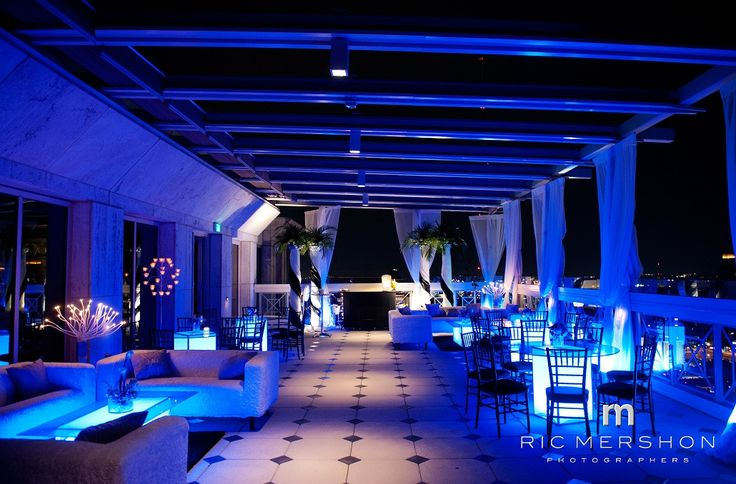 A Miami Night Themed Wedding Reception at The Peachtree Club! Page 4 « Photo Gallery | Atlanta Rooftop Weddings