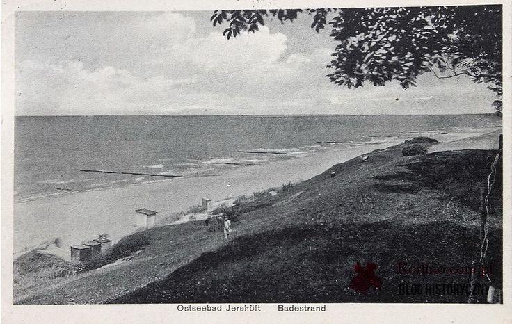 Jarosławiec pocztówka z obiegu wysłana z Jershöft Schlawe ( Pomm.) Land w 1932 roku. WYDAWNICTWO: Albert Mewes, Rügenwalde 602