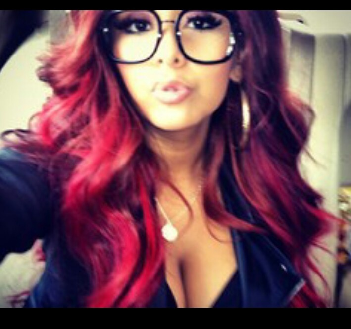 LOng hair don't care, RED SNOOKI