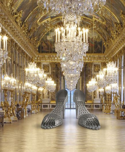 Joana Vasconcelos à Versailles. Marilyn.