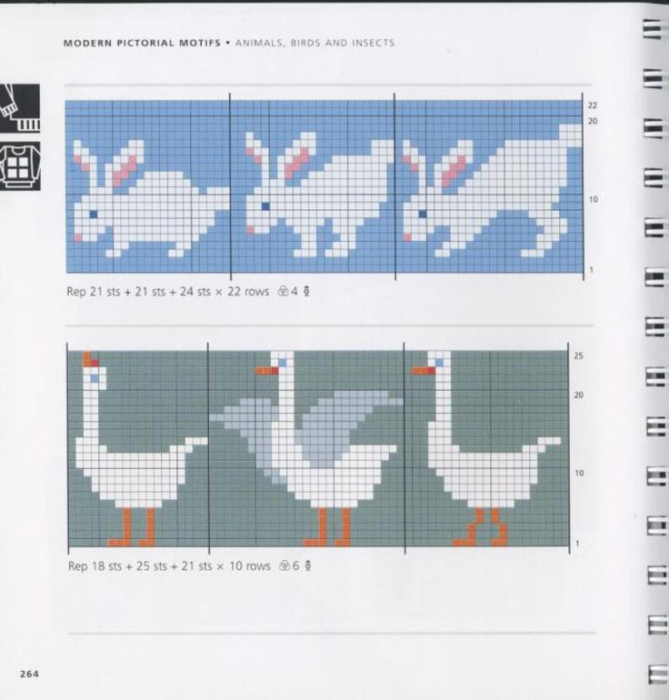 469 best Knitting charts: animals/people images on Pinterest ...