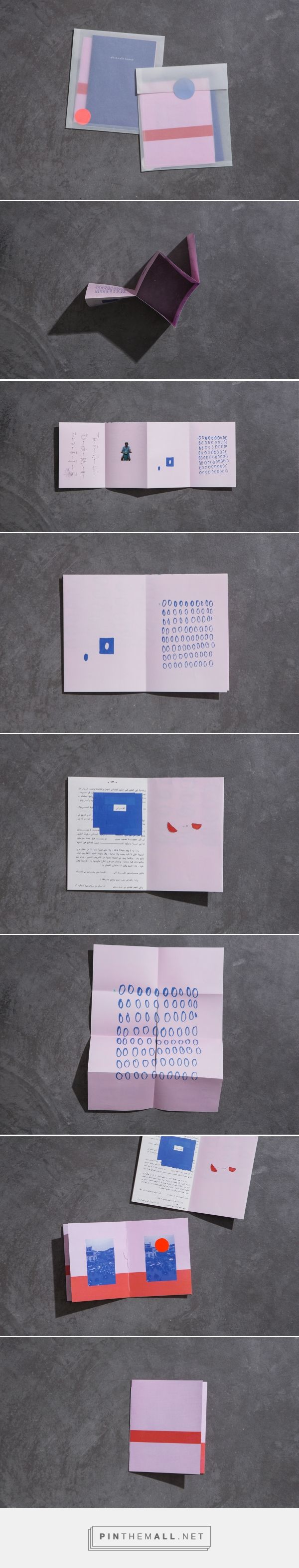 A graphic study of abstractions - zine on Behance - created via https://pinthemall.net