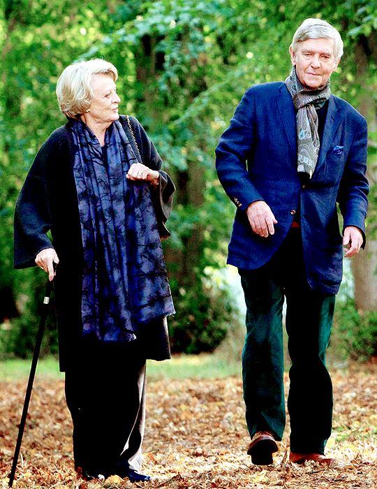 Maggie Smith as Jean, and Tom Courtenay as Reggie - Quartet (2012)