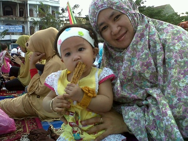 Mukana Distro, serasi dipakai member kami saat Hari Raya Idul Fitri di Makassar