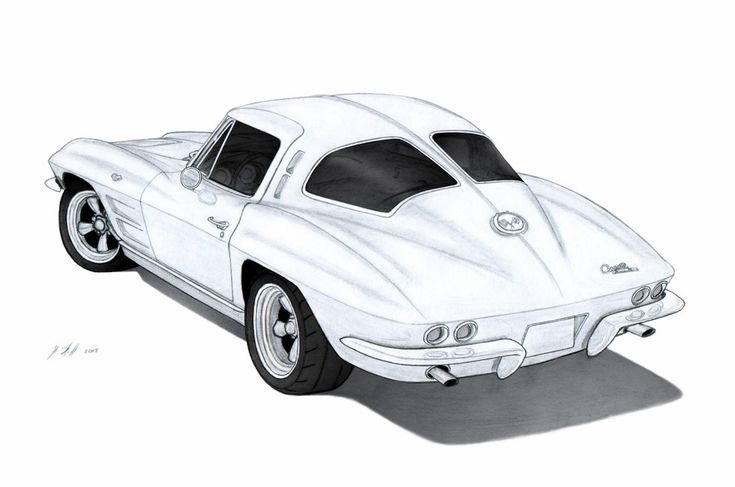 Done with 4B,HT,3H pencils and some little work in photoshop. Engine: Modified 327ci Transmission: Tremec TKO 5-Speed Manual Wheels: American Racing Torq Thrust D