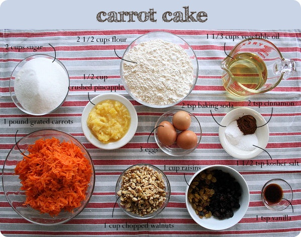 Homemade Carrot Cake Without Nuts