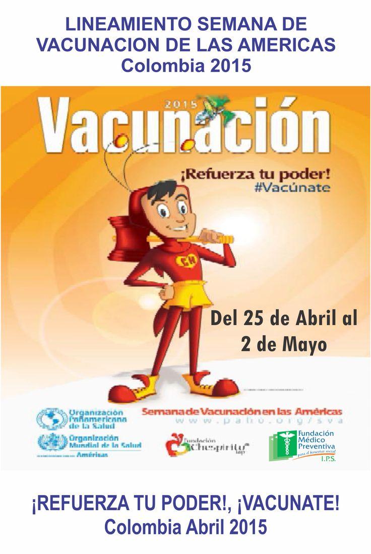 #Jornada de #Vacunación de las #Américas
