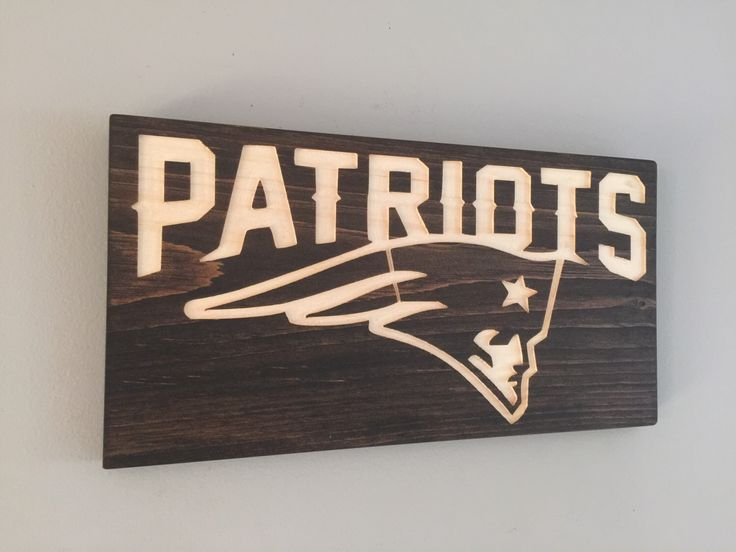 New England Patriots Wood Sign by MAKPrecision on Etsy https://www.etsy.com/listing/468349896/new-england-patriots-wood-sign